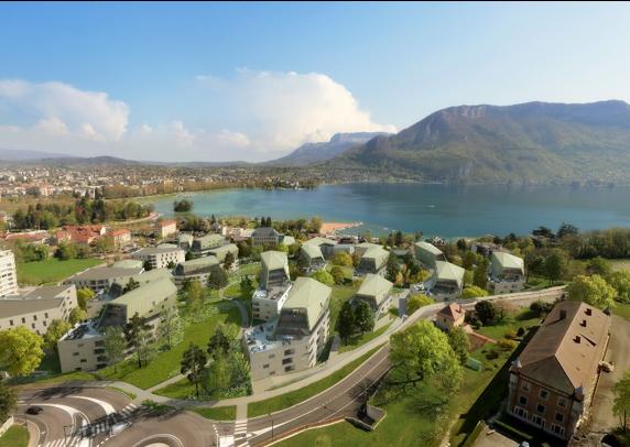 L'eau Du Lac D'Annecy Va Permettre De Chauffer Et Refroidir Le Futur Quartier Des Trésums